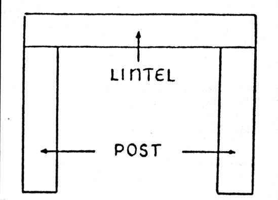 Post And Lintel : Post and lintel elijah s corner